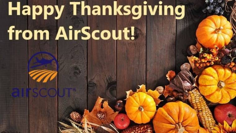 Happy Thanksgiving from AirScout!